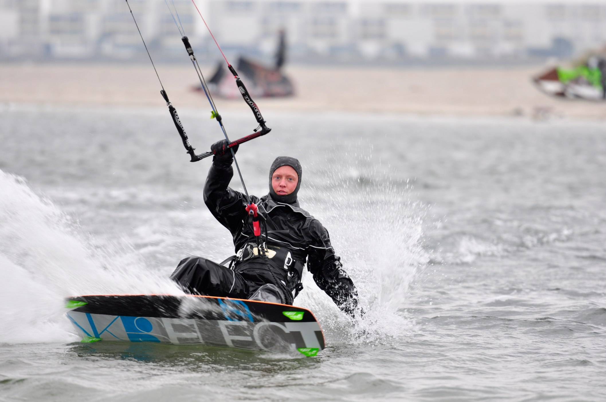 Kite Surfer Paradies Fehmarn